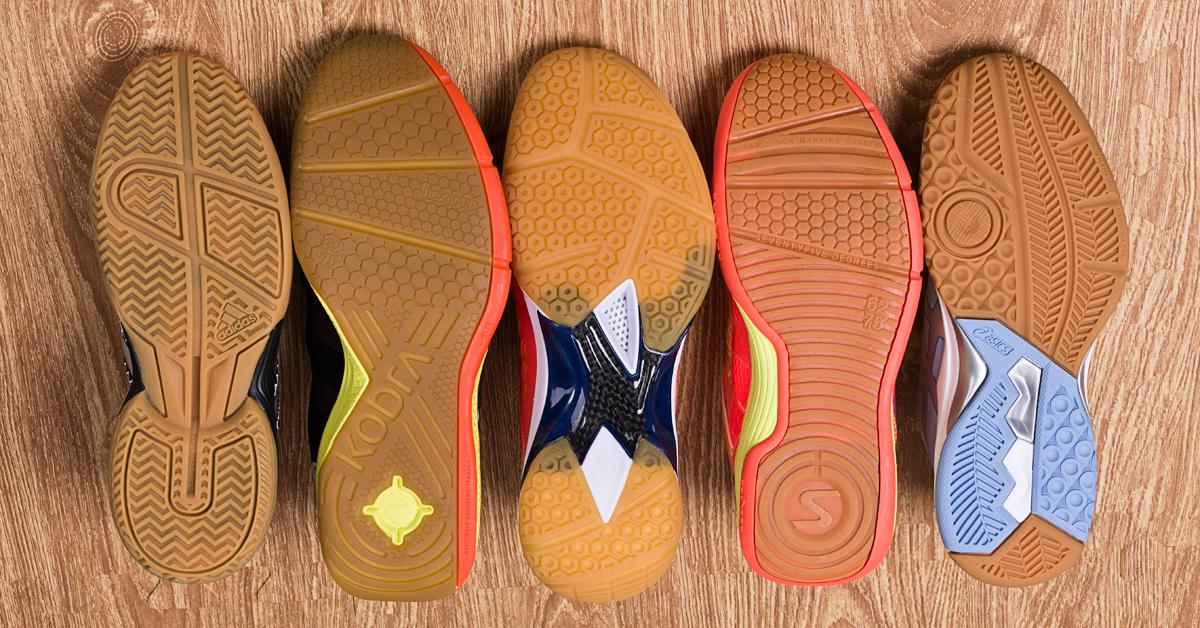 squash shoes sole